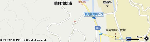 大分県佐伯市鶴見大字地松浦1045周辺の地図