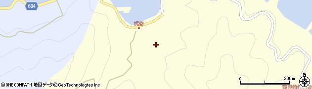 大分県佐伯市鶴見大字梶寄浦249周辺の地図