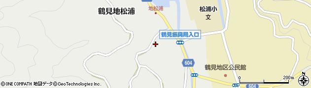 大分県佐伯市鶴見大字地松浦1051周辺の地図