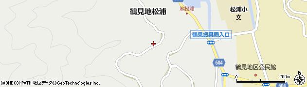大分県佐伯市鶴見大字地松浦964周辺の地図