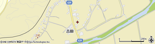 大分県竹田市吉田107周辺の地図