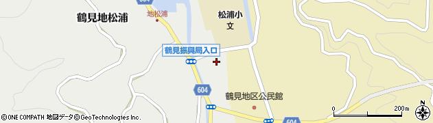 大分県佐伯市鶴見大字地松浦2010周辺の地図