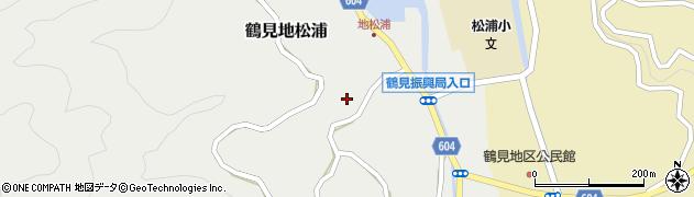 大分県佐伯市鶴見大字地松浦961周辺の地図
