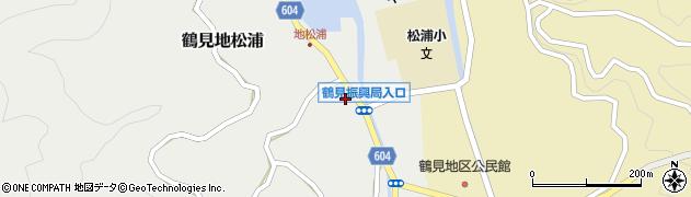 大分県佐伯市鶴見大字地松浦1066周辺の地図