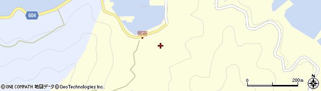 大分県佐伯市鶴見大字梶寄浦243周辺の地図