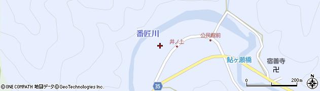 大分県佐伯市本匠大字井ノ上288周辺の地図