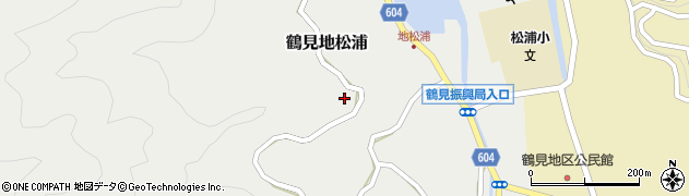 大分県佐伯市鶴見大字地松浦821周辺の地図