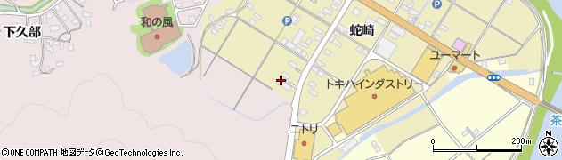 大分県佐伯市池田1991周辺の地図