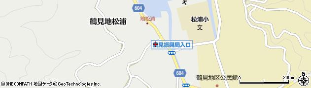 大分県佐伯市鶴見大字地松浦1087周辺の地図