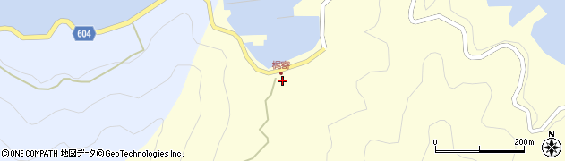 大分県佐伯市鶴見大字梶寄浦108周辺の地図