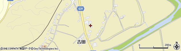 大分県竹田市吉田109周辺の地図
