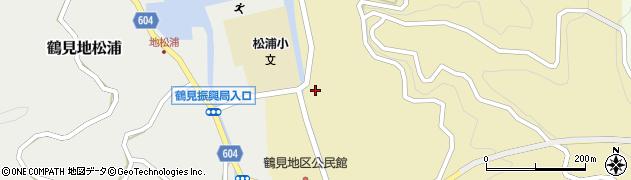 大分県佐伯市鶴見大字沖松浦762周辺の地図