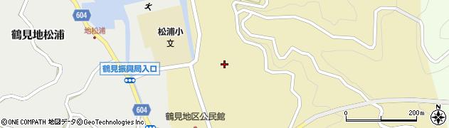 大分県佐伯市鶴見大字沖松浦771周辺の地図