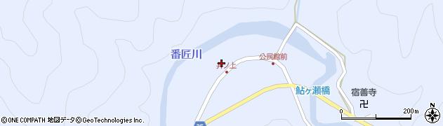 大分県佐伯市本匠大字井ノ上298周辺の地図