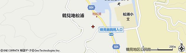 大分県佐伯市鶴見大字地松浦921周辺の地図