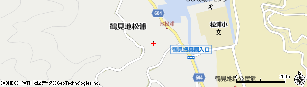 大分県佐伯市鶴見大字地松浦894周辺の地図