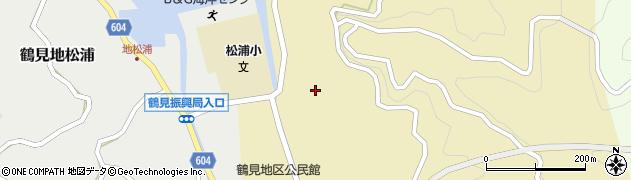 大分県佐伯市鶴見大字沖松浦769周辺の地図