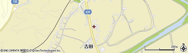 大分県竹田市吉田382周辺の地図