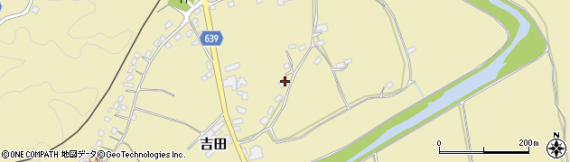 大分県竹田市吉田133周辺の地図