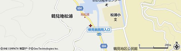 大分県佐伯市鶴見大字地松浦949周辺の地図