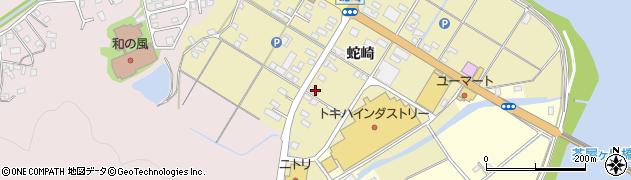 大分県佐伯市池田2094周辺の地図
