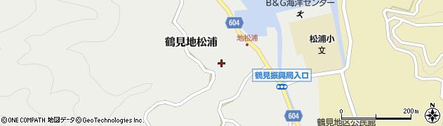 大分県佐伯市鶴見大字地松浦892周辺の地図
