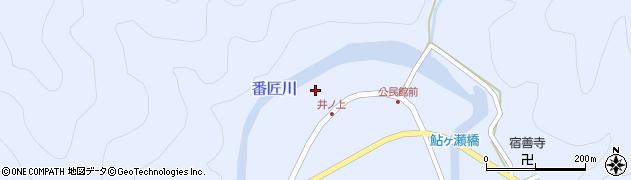 大分県佐伯市本匠大字井ノ上302周辺の地図