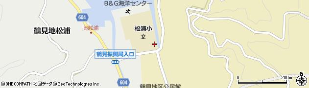 大分県佐伯市鶴見大字地松浦761周辺の地図