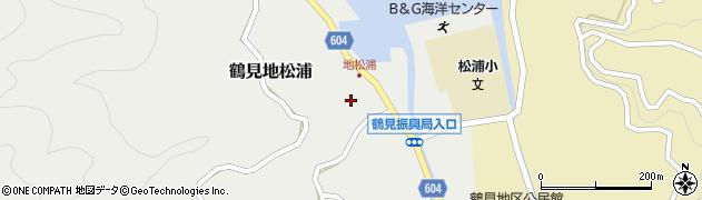 大分県佐伯市鶴見大字地松浦924周辺の地図
