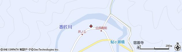 大分県佐伯市本匠大字井ノ上311周辺の地図