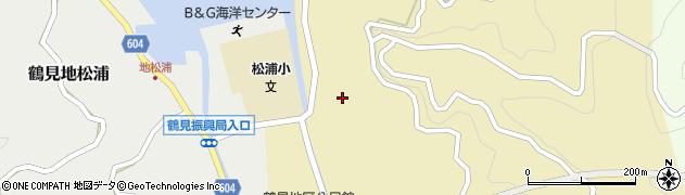 大分県佐伯市鶴見大字沖松浦766周辺の地図
