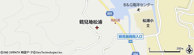 大分県佐伯市鶴見大字地松浦800周辺の地図