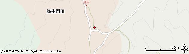大分県佐伯市弥生大字門田501周辺の地図