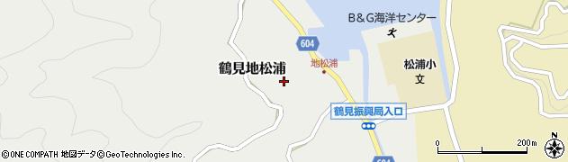大分県佐伯市鶴見大字地松浦796周辺の地図