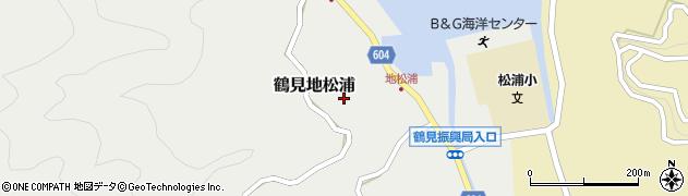 大分県佐伯市鶴見大字地松浦798周辺の地図