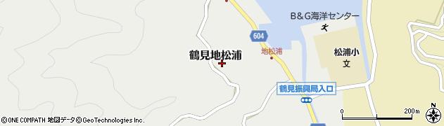 大分県佐伯市鶴見大字地松浦786周辺の地図