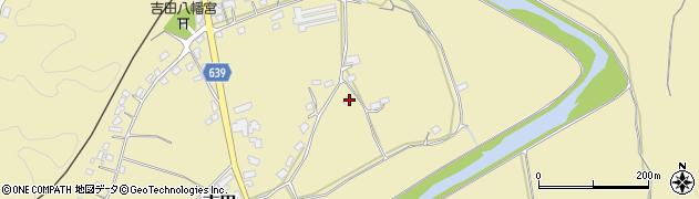 大分県竹田市吉田151周辺の地図