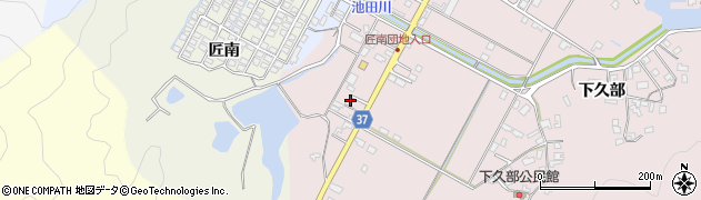 大分県佐伯市池田1109周辺の地図