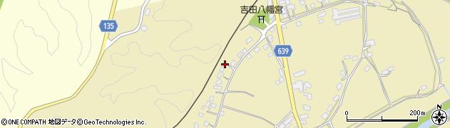 大分県竹田市吉田468周辺の地図