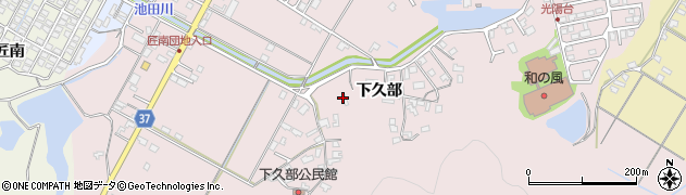 大分県佐伯市池田1434周辺の地図