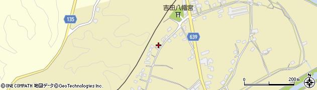 大分県竹田市吉田464周辺の地図