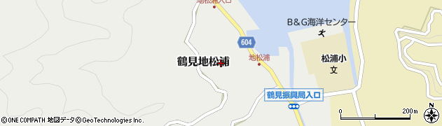 大分県佐伯市鶴見大字地松浦794周辺の地図