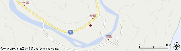 大分県佐伯市本匠大字波寄2392周辺の地図