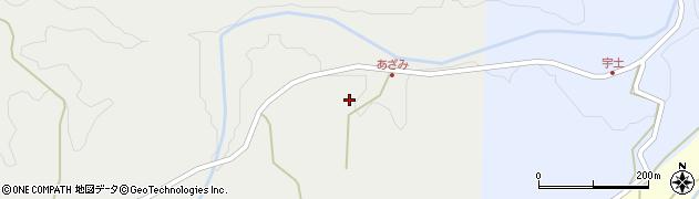 大分県竹田市渡瀬211周辺の地図