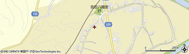 大分県竹田市吉田454周辺の地図