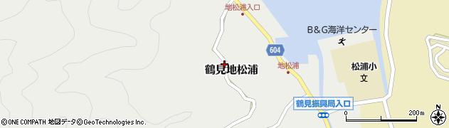 大分県佐伯市鶴見大字地松浦614周辺の地図