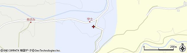 大分県竹田市穴井迫369周辺の地図