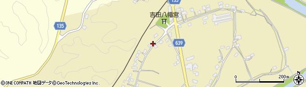 大分県竹田市吉田465周辺の地図