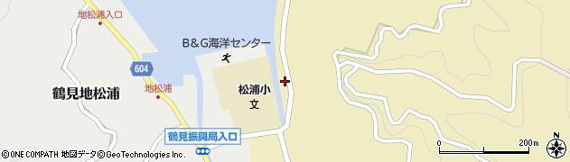 大分県佐伯市鶴見大字沖松浦797周辺の地図