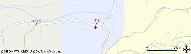 大分県竹田市穴井迫357周辺の地図